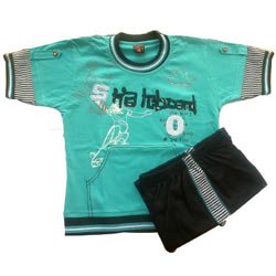 Aqua GreenKidswear for Boy.(4 year - 6 year)