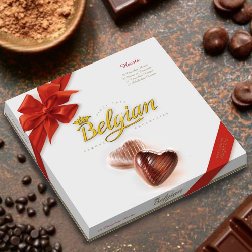 Yummy Belgian Chocolates