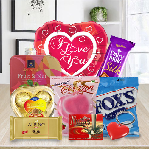 Enriched Amusement Chocolate Hamper