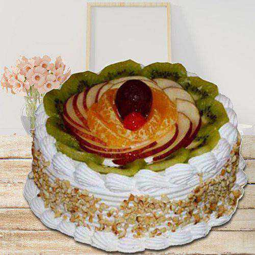 Bakery-Fresh 1 Kg Fresh Fruit Cake