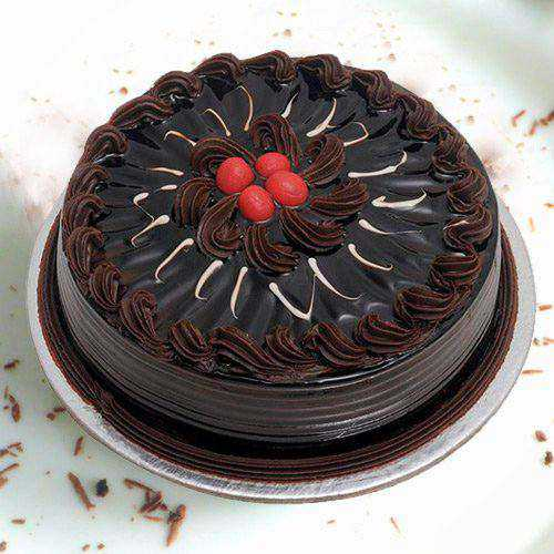 Delightful 1 Lb Chocolate Truffle Cake from 3/4 Star Bakery