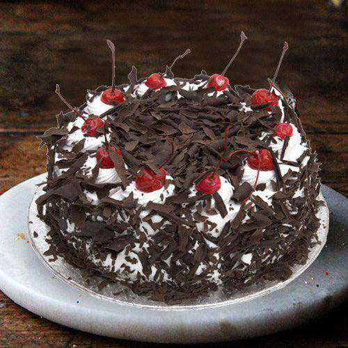 Bewitching 2.2 Lbs Black Forest Cake from 3/4 Star Bakery