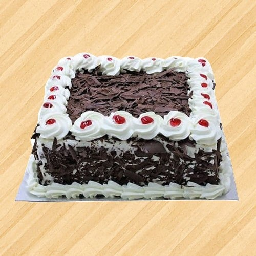 Delicious 1/2 kg Black Forest Cake
