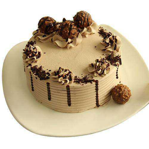 Exotic Ferrero Rocher Chocolate Cake