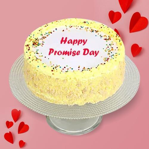 Devilishly Good Butter Scotch Cake for Promise Day