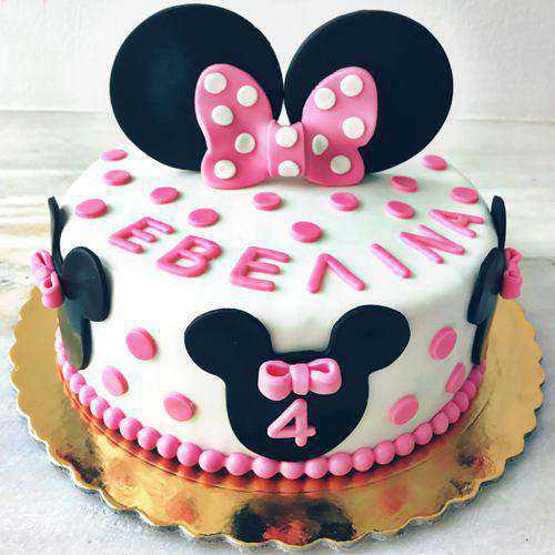 Special Minnie Mouse Cake for Youngster