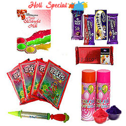 Delightful Holi the Festival of Colours Hamper