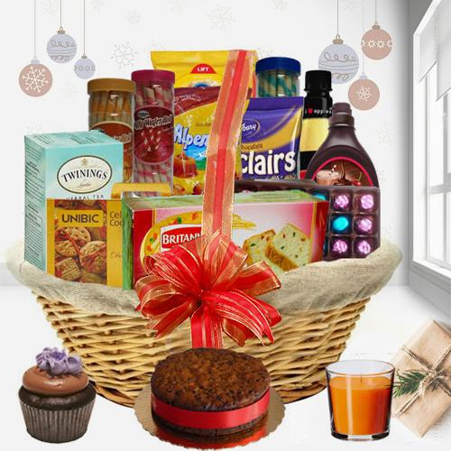 Classic Holiday Christmas Gift Hamper