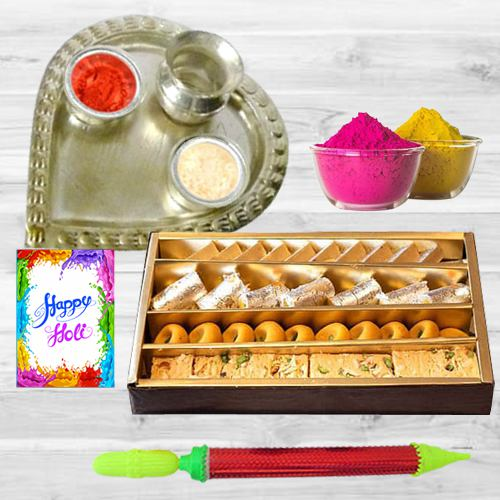 Pleasurable Holi Gift Hamper