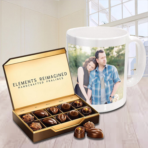 Magical Personalized Coffee Mug with ITC Premium Chocolates