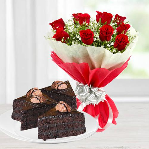Ethereal Roses and Chocolate Duple