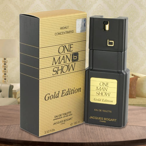 Exciting One Man Show Gold Jacques Bogart EDT Spray