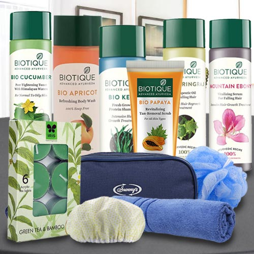Refreshing Biotique Spa Hamper