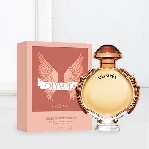 Attractive Gift of Paco Rabanne Olympea Intense Eau de Perfume for Women