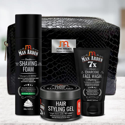 Feel Better Mens Grooming Kit from Man Arden
