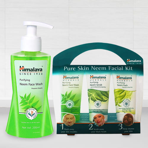 Amazing Himalaya Pure Skin Neem Facial Kit