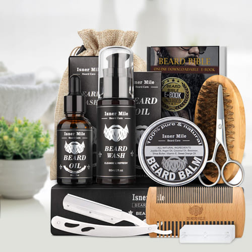 Dashing Look Beard Trimming Kit for Men