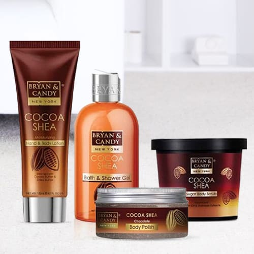 Exclusive Bryan N Candy New York Cocoa Shea Bath Tub Kit