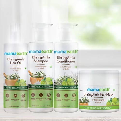 Natural Mamaearth BhringAmla Hair Care Kit
