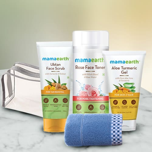 Glowing Look Mamaearth Face Care Hamper