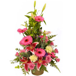 Dramatic Premium Arrangement of Mixed Flowers