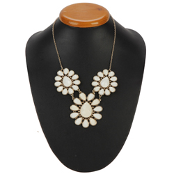 Exclusive Floral Designer Necklace from Avon