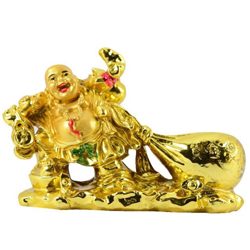 Amazing Feng Shui Laughing Buddha With Potli