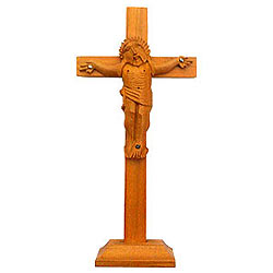 Amazing Crucifix of Sandalwood