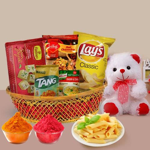 Innovative Hamper Basket with Everlasting Joy