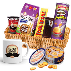 Amazing Snacks Basket for Father