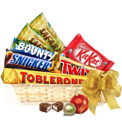 Amazing Gift Basket for Chocolate Lovers