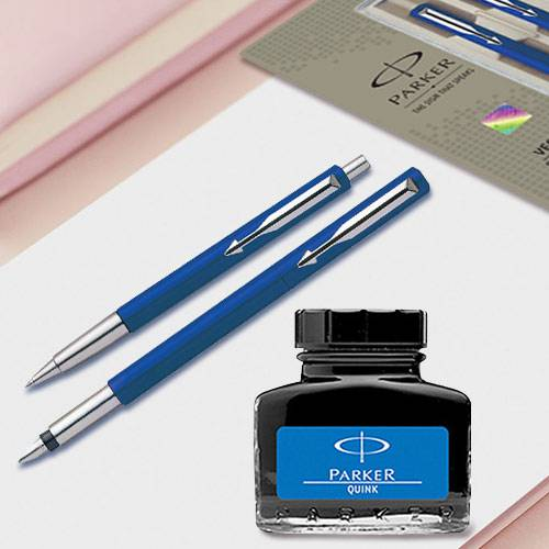 Marvelous Parker Pen n Ink Set