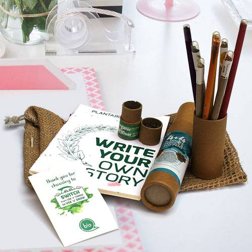 Marvelous Plantable Stationery Gift Jute Kit