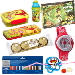 Pretty Kids Rakhi Gifts