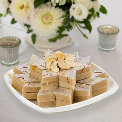Mouth Watering Kaju Barfi