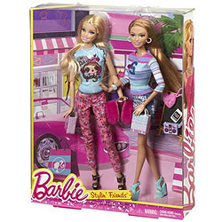 Amazing Barbie Fab Life Stylin Friends Set