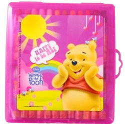 Disney Winnie the Pooh 24 Color Oil Pastels
