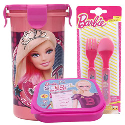 Classic Kids Essential Barbie Tiffin Set