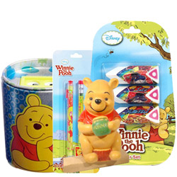 Charming Kids Delight Winnie The Pooh Stationery Set