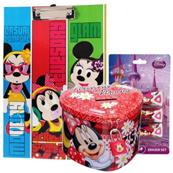 Classic Step Out in Style Disney Minnie Stationery Set