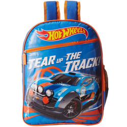 Classy Hot Wheels Pattern School Bag