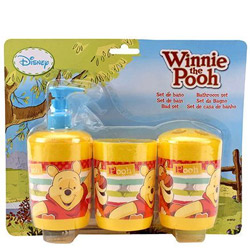 Wonderful Kids Delight Winnie the Pooh Pattern Bathroom Set