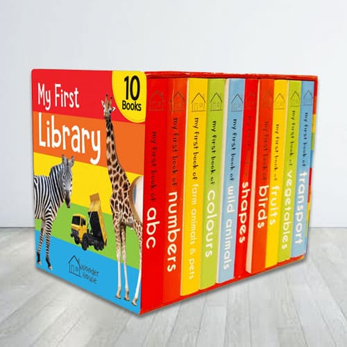 Amazing My First Library Books Boxset for Kids