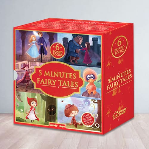 5 Minutes Fairy Tales Bookset for Kids