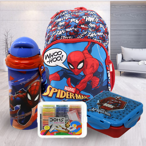 Marvelous Spiderman School Utility Combo