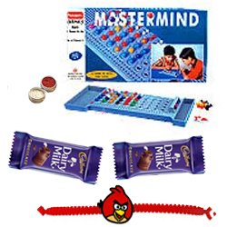 Mastermind � A game of Mind with Free Kids Rakhi with Chocolates