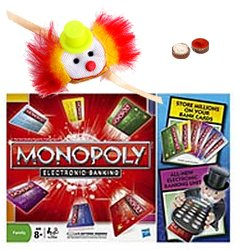 Stunning Gift of Monopoly Game with Free Rakhi, Roli Tilak and Chawal