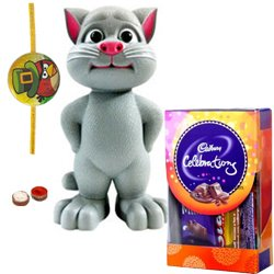 Cool Talking Tom Cat Toy with Chocolate