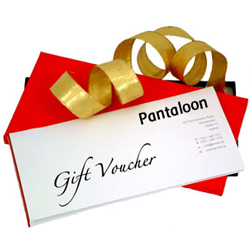 Pantaloons Gift Vouchers Worth Rs. 2500